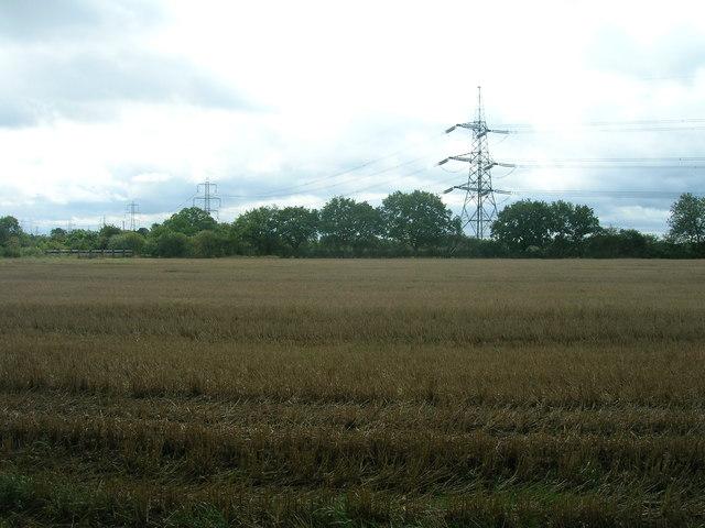 Farmland near Thorpe in Balne