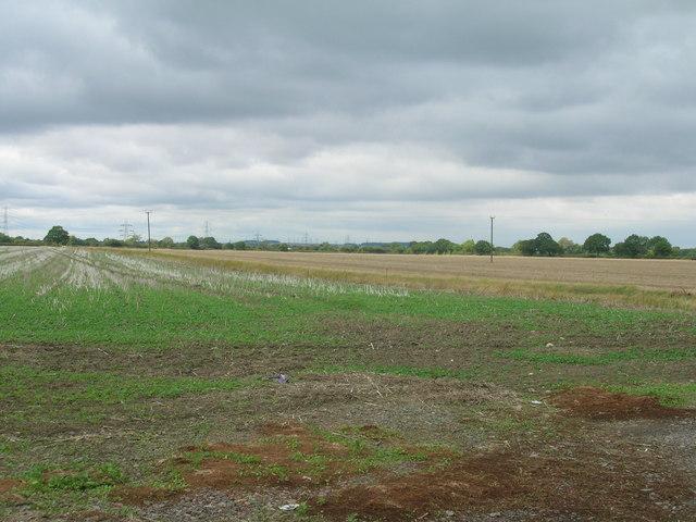 Farmland near Manor House