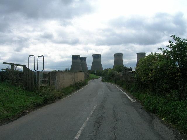 Thorpe Bank heading south