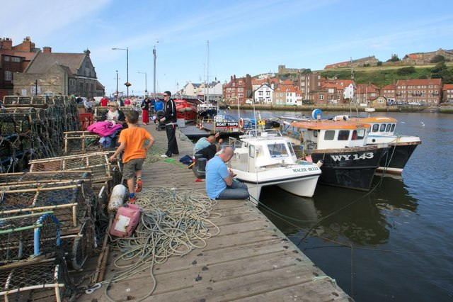 Harbour-side, Whitby
