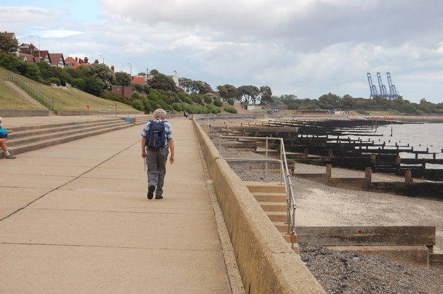 The Essex Way 170: Dovercourt Seafront