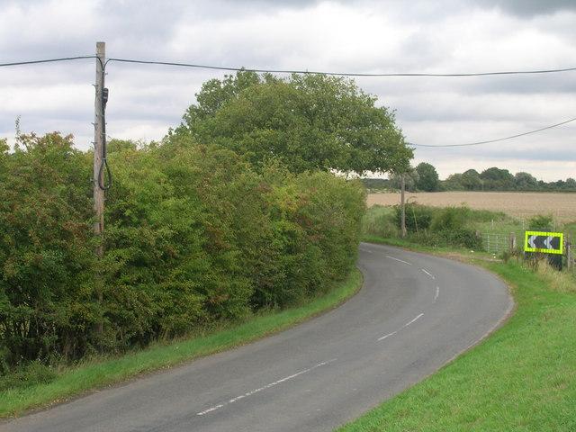Marsh Road towards Trumfleet
