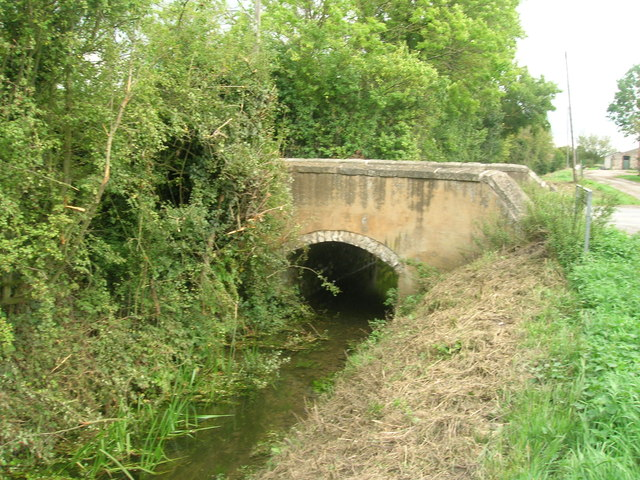 Bridge over Wrancarr Drain