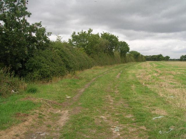 Footpath towards Fenwick