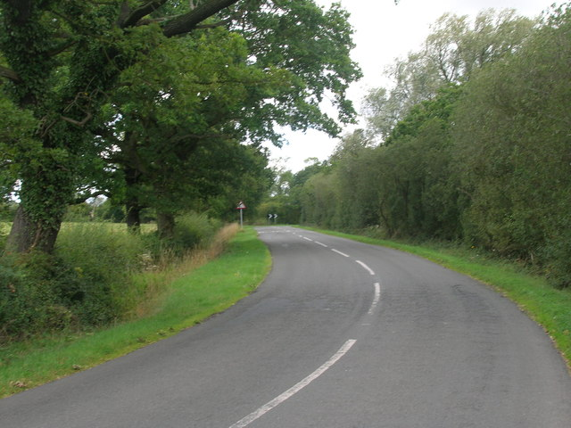 Flashley Carr Lane towards Sykehouse