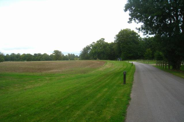 Track in Oakley Park