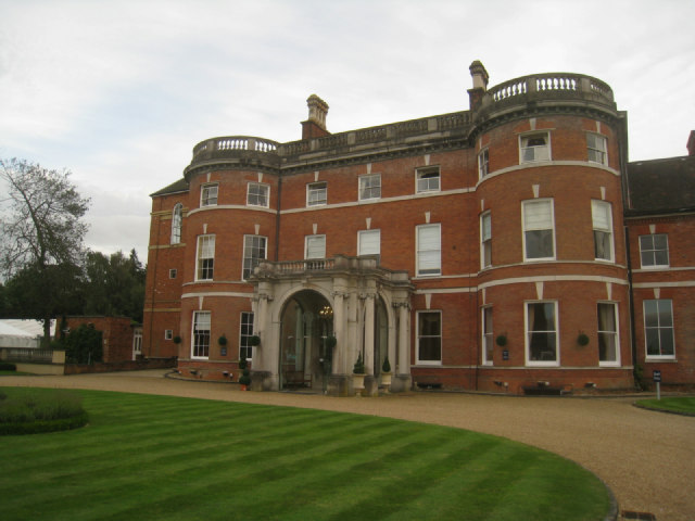 North facade - Oakley Hall