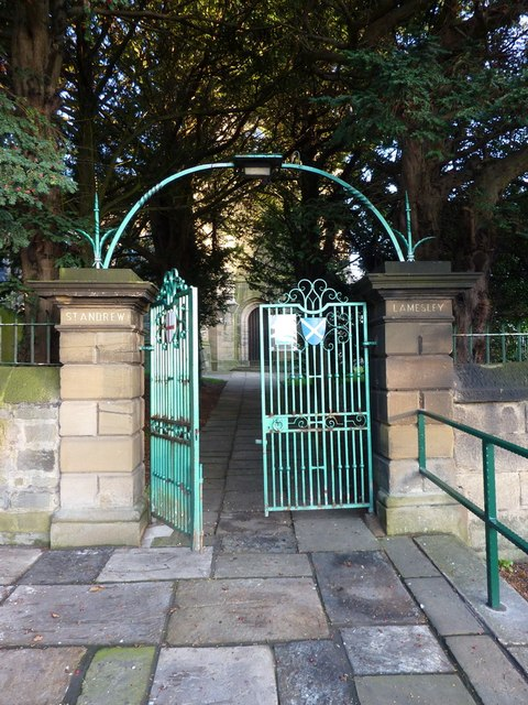 Parish Church of St Andrew, Lamesley, Gate