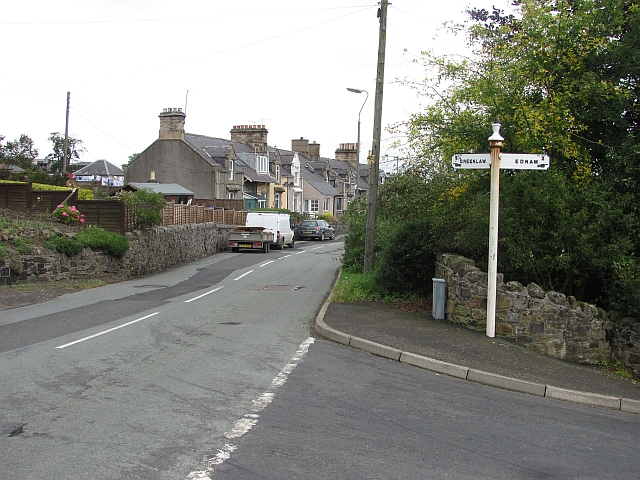 End of Ednam Road, Stichill