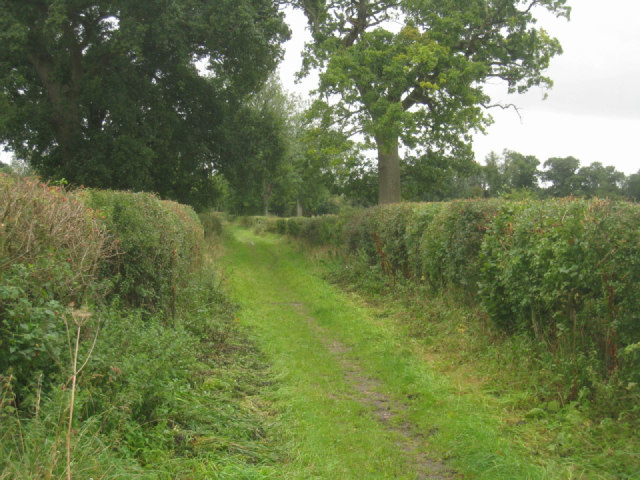Well defined rural track