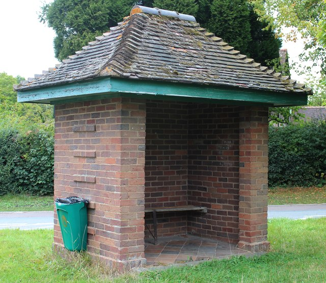 Mathon Turn bus shelter, Colwall