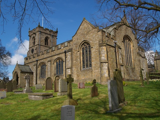 The St Leonard Church building, Downham