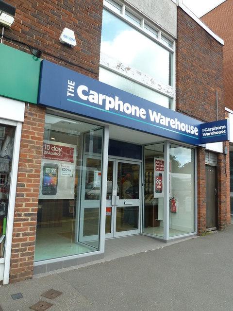 The Carphone Warehouse, Station Road