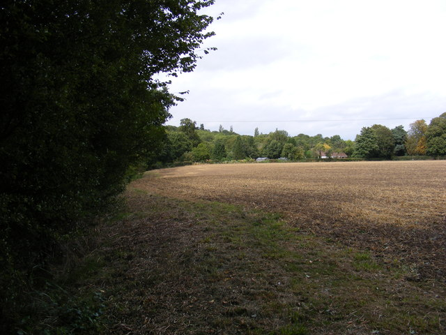 Footpath to the A1120 Badingham Road