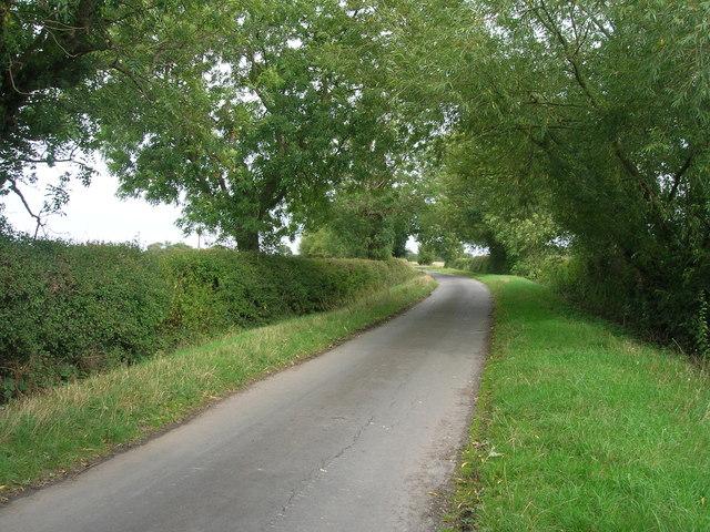 Lawn Lane heading east