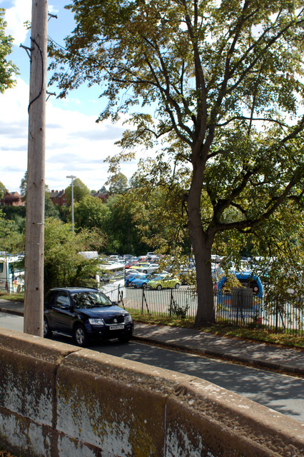 City Wall and Little Roodee Car Park