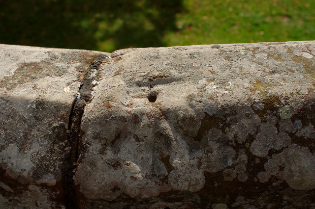 Pivot Bench Mark, City Walls