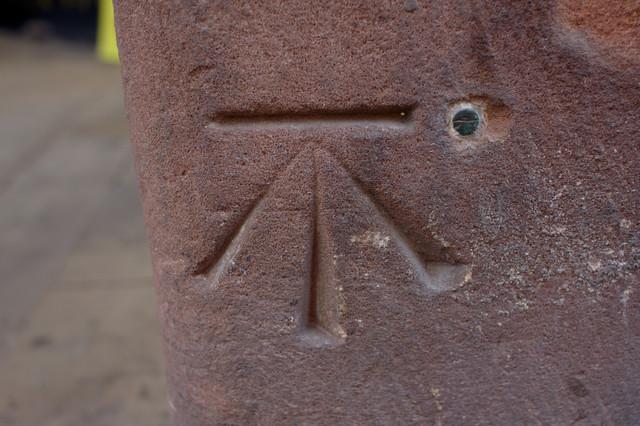 Bolt Bench Mark, Eastgate