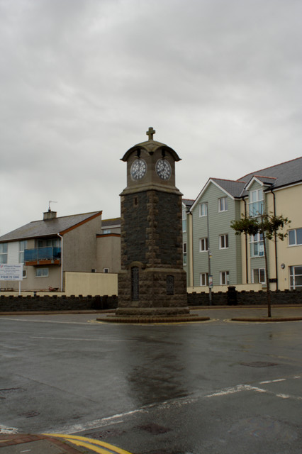Memorial Clock Tower, Rhosneigr