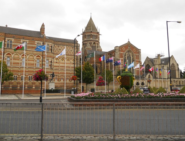 Rugby School-Flags of the Nations