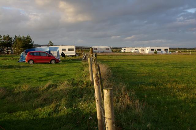 Campsite, Pen-Y-Bont Farm