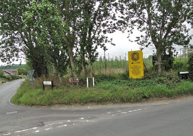 The road to Bekesbourne
