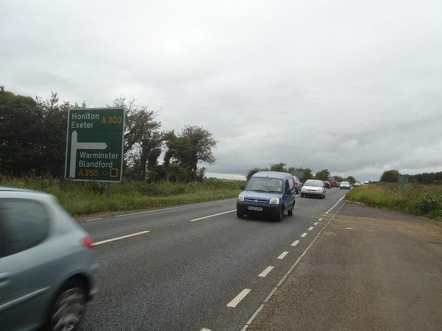 A303 near Chicklade