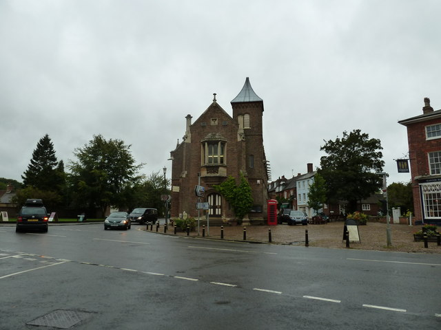 A wet September morning in Woburn