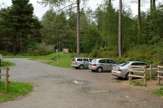 Car Park, Newborough Forest