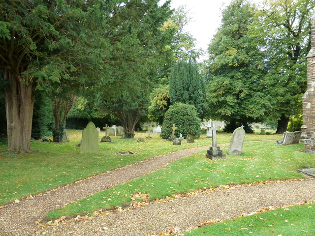 Church End- St. John the Baptist, Eversholt: churchyard