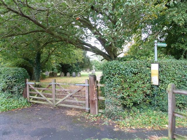 Entrance to St. Peter, Milton Bryan