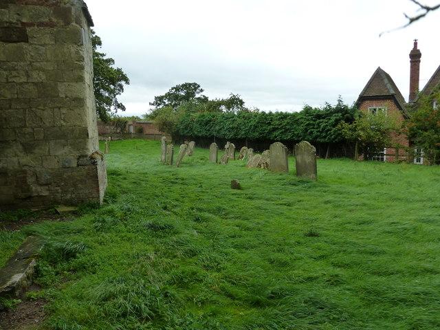A windswept St Peter and All Saints, Battlesden