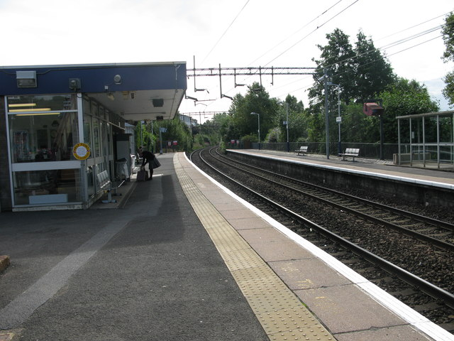 Westerton railway station, looking South-East
