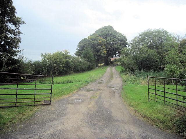 Entrance to Pen-y-Parc