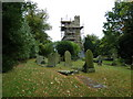 SP9626 : Scaffolding on the tower at St Nicholas, Hockliffe by Basher Eyre