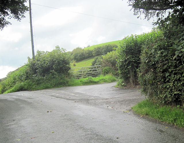 Entrance to Tan-y-pistyll