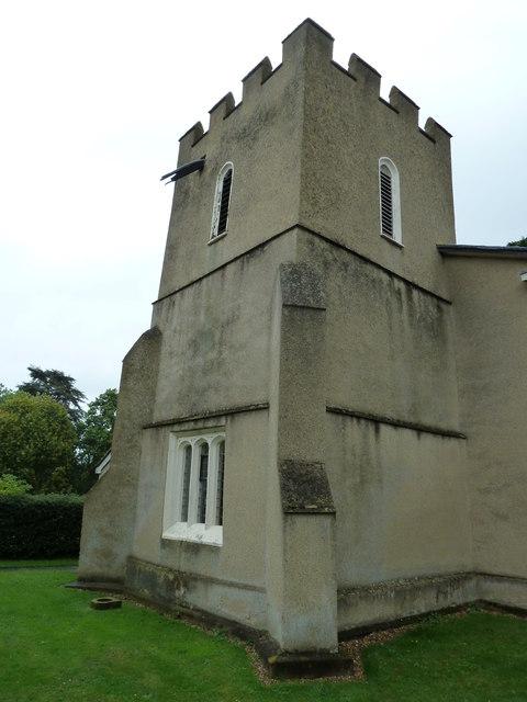Church tower, St Leonard's Heath & Reach