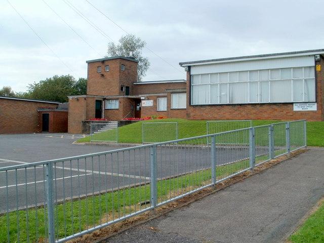 Main office, Brynglas Primary School, Newport