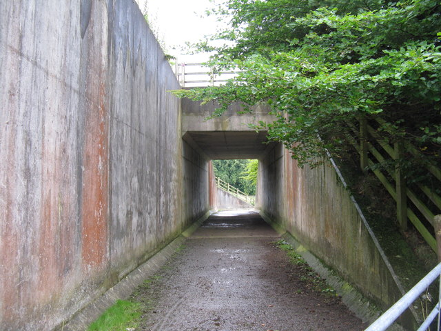 Bridge under the A7