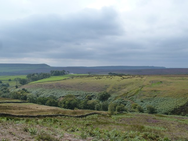 Moorland Scenery approaching Bransdale