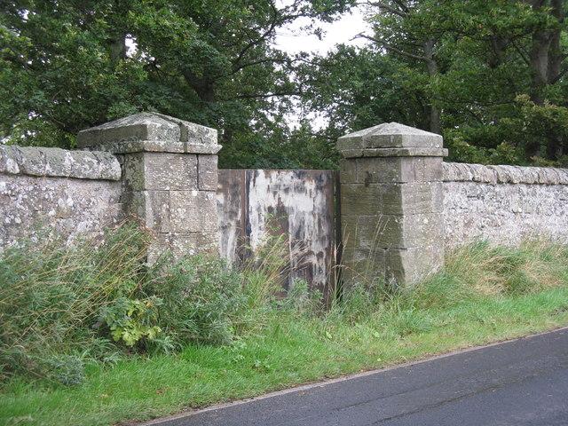 Middleton Hall boundary wall