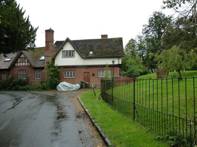 Houses adjacent to Mentmore Churchyard