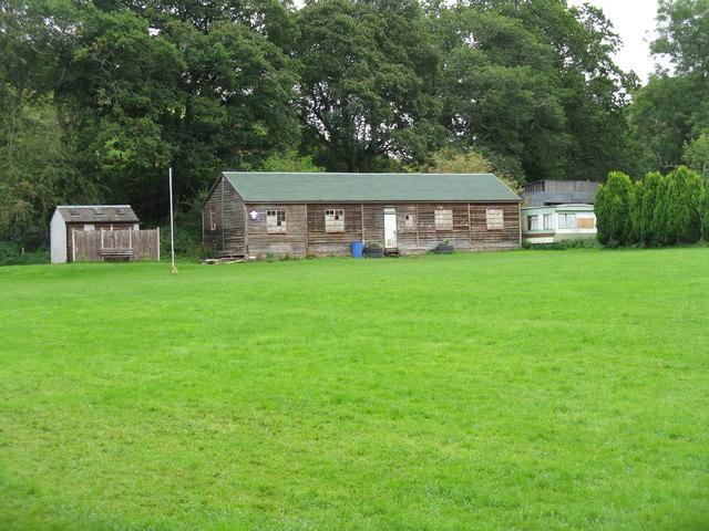 Scout hut at Borthwick