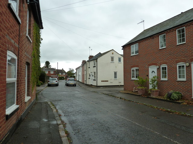 Approaching the junction of  Church Street and Corn Mill Close