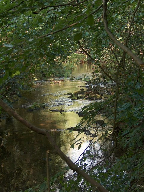 The River Loxley near Riverdale