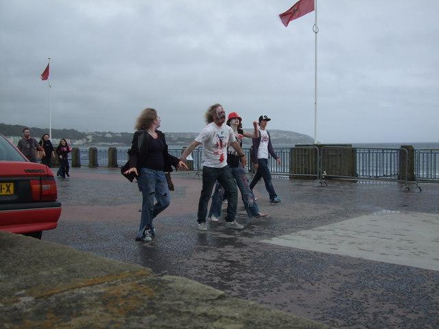 ''Oh I do like to beside the seaside''