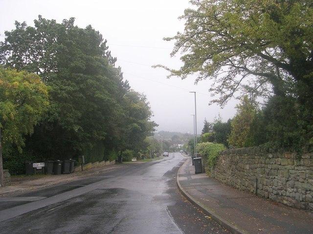 Layton Lane - viewed from Town Street