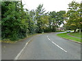 SP8619 : Bend in Leighton Road by Basher Eyre