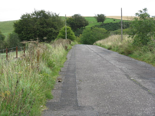 The old A7 at North Middleton