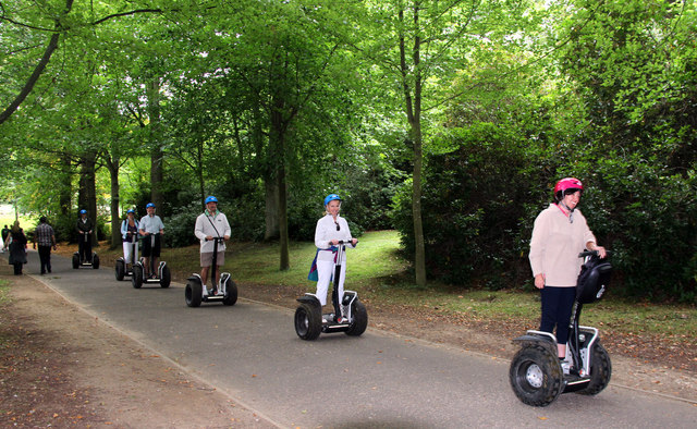 A Different Way to Travel, Leeds Castle, Kent